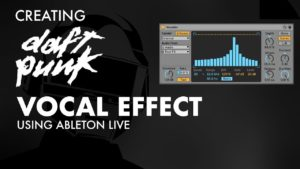 Creating Daft punk style vocal effects