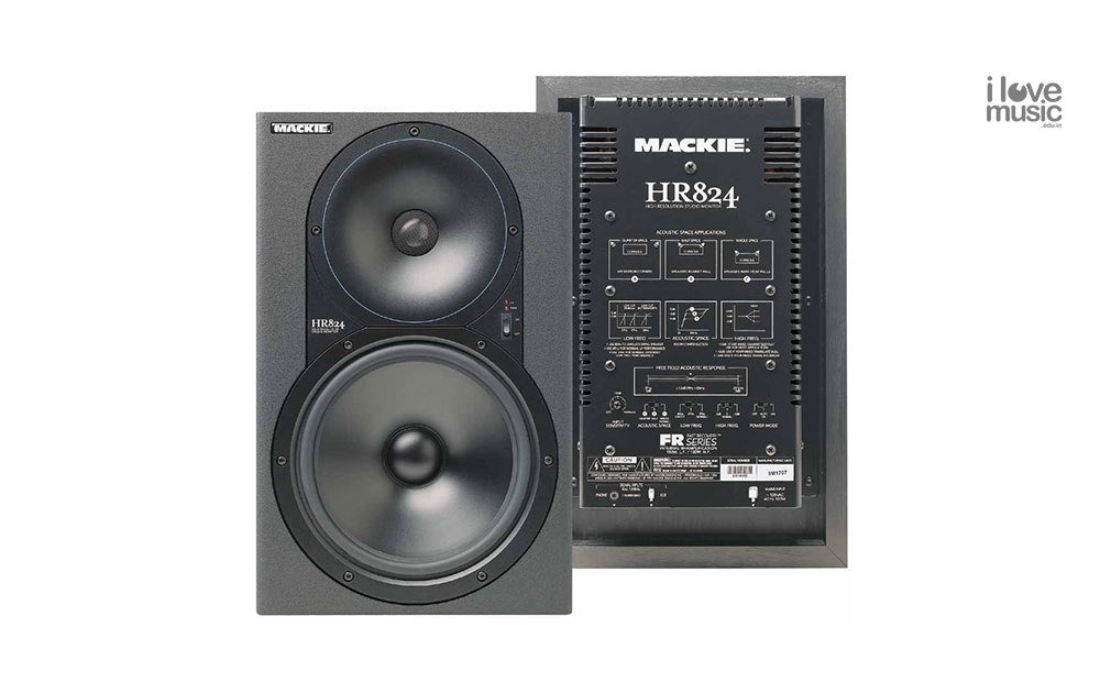 Mackie HR824 studio monitors