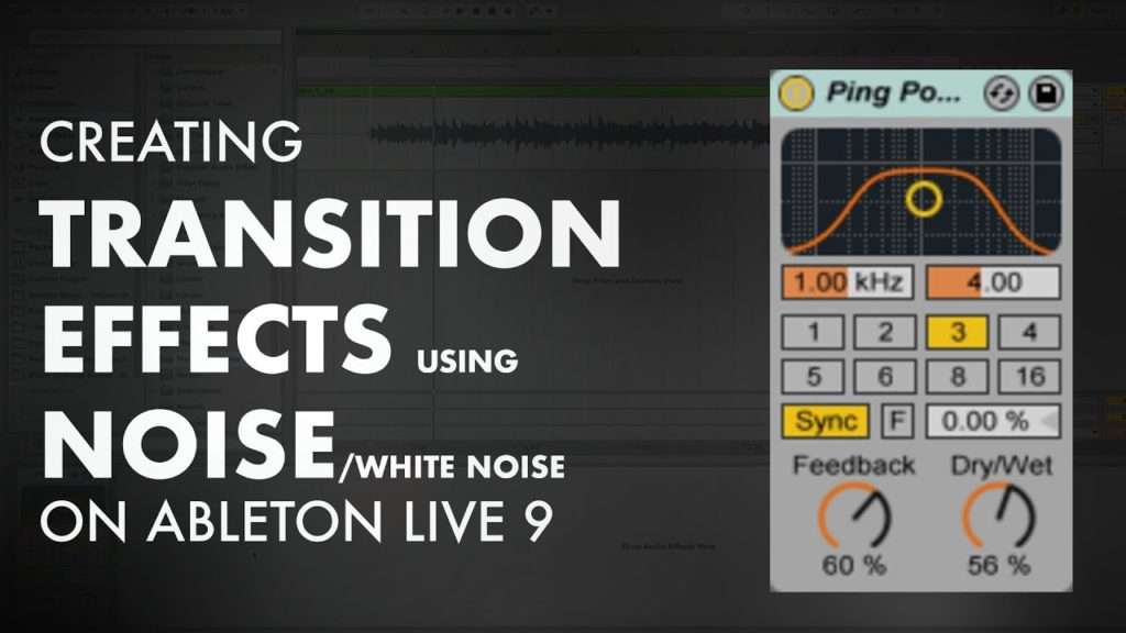 Creating transition effects using White Noise