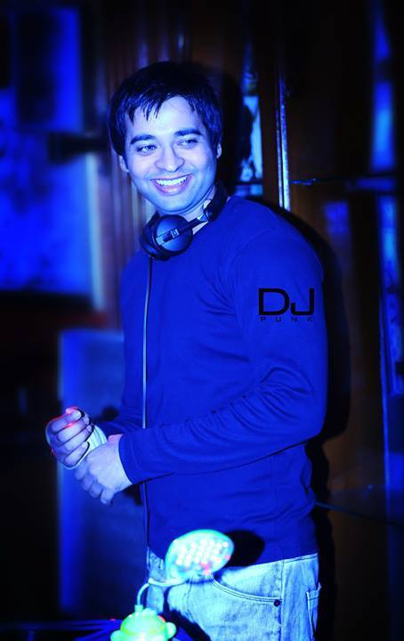 DJ punk Music Production Student